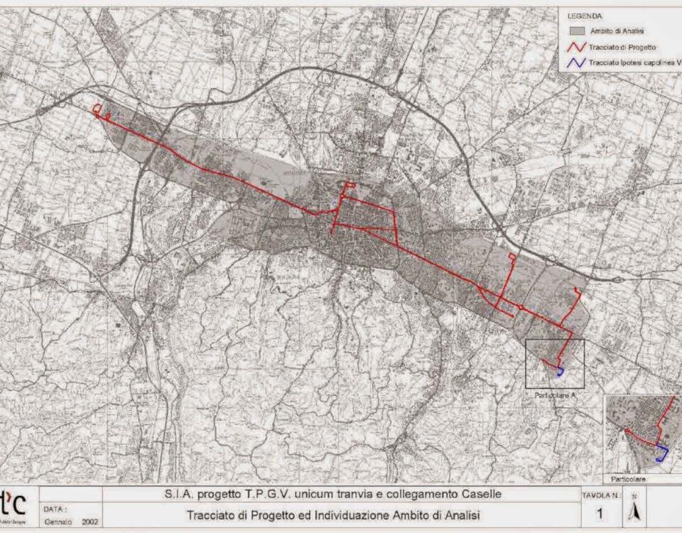 Opere di riqualificazione urbana in Bologna (TPGV)