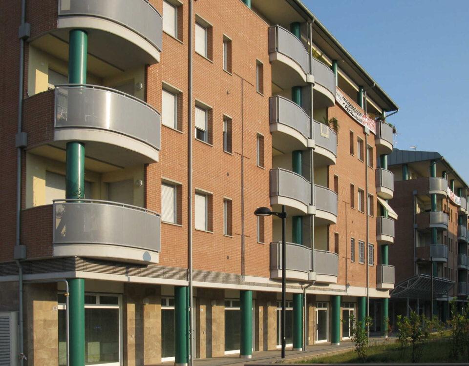 Edifici nell'area Ex Veneta - Via Zanolini, Bologna