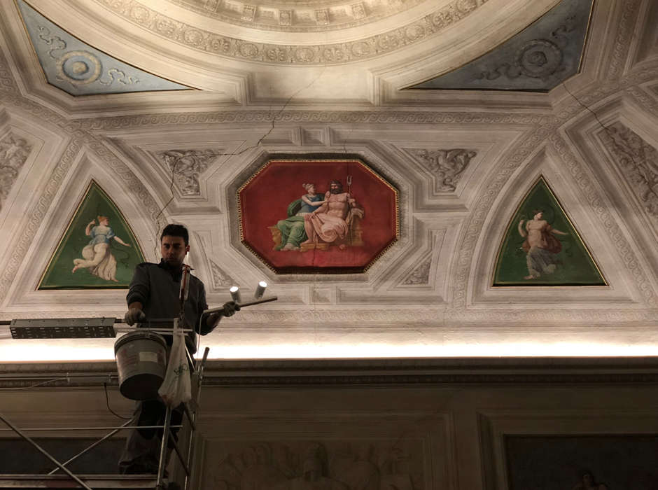 Restauro di Palazzo Merendoni Bologna