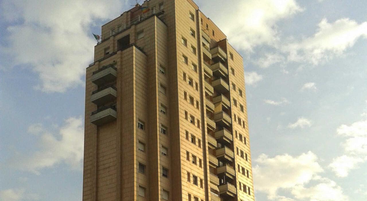 Torre per edilizia convenzionata in Bologna