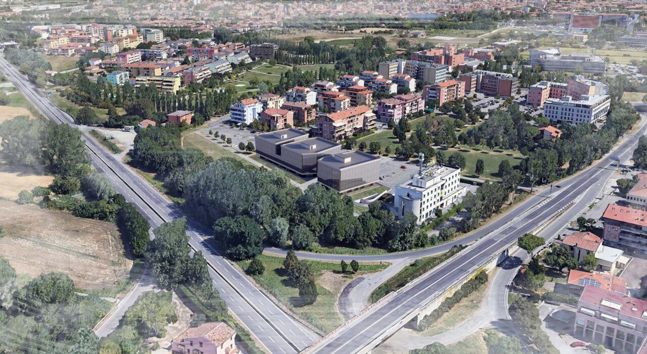 Complesso direzionale e commerciale, Viale Randi, Ravenna